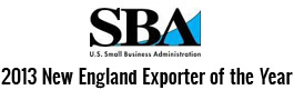 2013 New England Exporter of the Year